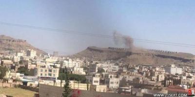 غارات جوية لطيران التحالف تستهدف العاصمة صنعاء