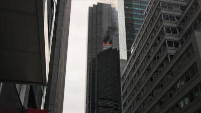 """مصرع شخص جراء حريق في """"برج ترامب"""" بنيويورك"""
