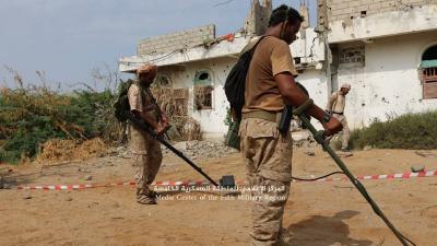 قوات الجيش تواصل تقدمها في ميدي والفرق الهندسية تنتشر لنزع الألغام