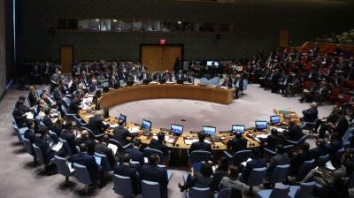 """فيتو روسي ضد مشروع قرار أمريكي بشأن استخدام """"الكيمياوي"""" في سوريا"""