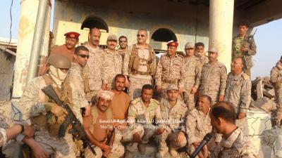 بالصور .. قائد القوات المشتركة الأمير فهد بن تركي يصل ميدي