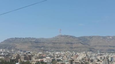 أسماء المواقع التي إستهدفها طيران التحالف قبل قليل في العاصمة صنعاء ( صور)