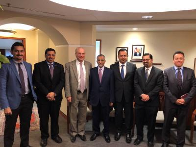 وفد حكومي ينهي مباحثاته مع مجموعة البنك الدولي لدعم الاقتصاد اليمني