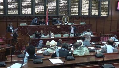"""القيادي الحوثي """" مهدي المشاط """" يؤدي اليمين الدستورية أمام مجلس النواب خلفاً لـ """" الصماد  !"""