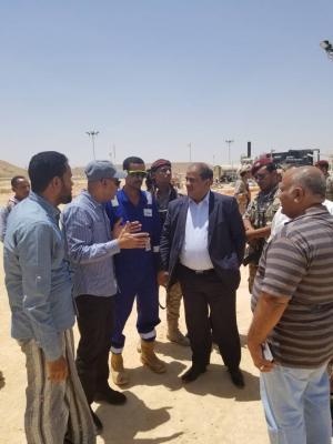 وزير النفط والمعادن يتفقد المنشآت والحقول النفطية لشركة بترومسيلة