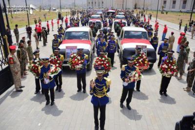 """كيف إستفز دفن القيادي الحوثي """" الصماد """" اليمنيين بميدان السبعين"""