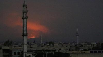 وكالة : مقتل 18 عسكريا إيرانيا بهجوم صاروخي بريف حماة السورية