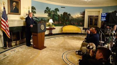 ترامب يعلن رسميا الانسحاب من الاتفاق النووي الإيراني