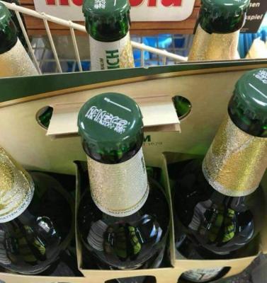 ألمانيا تعتذر للسعودية بسبب وضع العلم السعودي على مشروبات كحولية ( صوره)