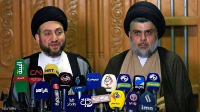 الصدر يبحث مع الحكيم التحالفات لتشكيل الحكومة العراقية