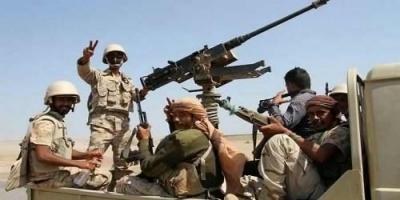 الجيش الوطني يسيطر على خطوط امداد الحوثيين بمنطقة كهبوب في لحج