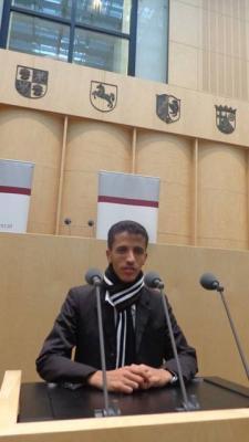 إختيار الشاب اليمني ماجد الجبري سفيراً للشباب العالمي لدعم التعليم في اليمن