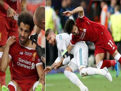 إدارة نادي ليفربول تعلّق على إصابة اللاعب محمد صلاح وتكشف عن حالته الصحية