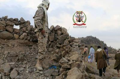 قوات الجيش الوطني تسيطر على مناطق جديدة في جبل حبشي بتعز وتسيطر نارياً على الخط الرابط بين تعز والحديدة