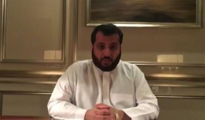 تركي آل الشيخ : لاعبوا المنتخب السعودي سودوا وجهي  وأنا اتحمل مسؤولية الخسارة ( فيديو)