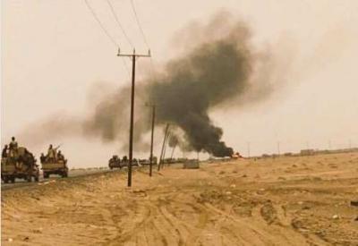 آخر مستجدات المعارك من مطار الحديدة