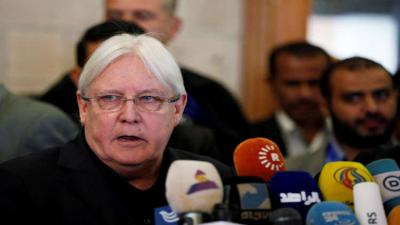المبعوث الأممي لليمن يغادر صنعاء دون تقدم في مفاوضات الحديدة