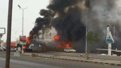 التحالف يستهدف معدات ومدفعية الحوثيين في مداخل مدينة الحديدة