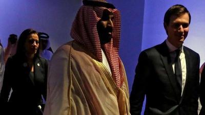 محمد بن سلمان و صهر ترامب كوشنر يبحثان التسوية بين إسرائيل وفلسطين