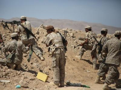 قوات الجيش الوطني تستكمل تحرير جبال تويلق في رازح بصعدة