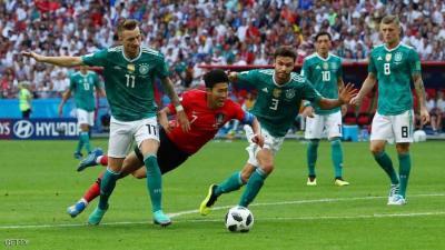 المانيا تودع المونديال .. والمكسيك والسويد يتأهلان معاً