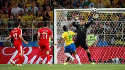 البرازيل تحسم صدارة مجموعتها في المونديال