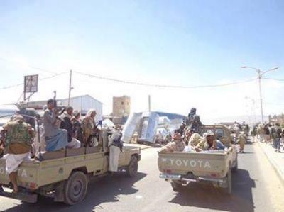 بعد أن فشلوا في السيطرة على مواقع الجميمة والمرحة غرب مدينة عمران .. الحوثيون يسيطرون على الجبل الاسود في منطقة ذيفان