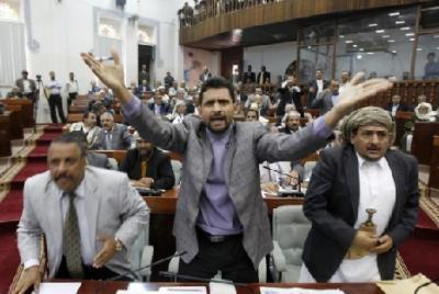 """صدور قرار للقيادي الحوثي """" المشاط """" بتعيينات وإزاحة البرلماني عبده بشر ( الأسماء)"""