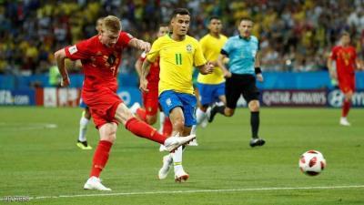 بلجيكا تقصي البرازيل وتحجز مقعدها في المربع الذهبي