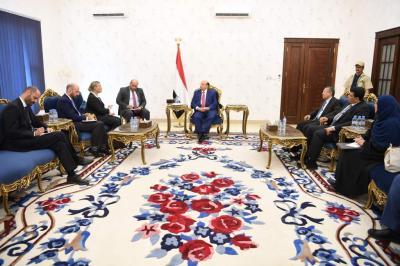 الرئيس هادي يستقبل منسقة الشؤون الإنسانية التابعة للأمم المتحدة