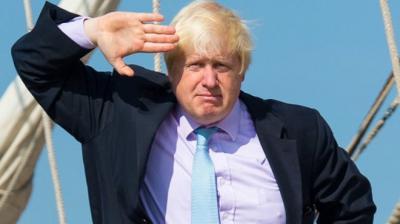 """إستقالة وزير الخارجية البريطاني """" جونسون """""""