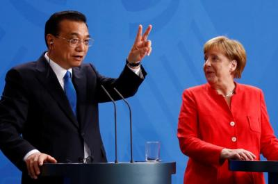 ألمانيا والصين توقعان اتفاقات بمليارات الدولارات وتتعهدان بالحفاظ على التجارة الحرة