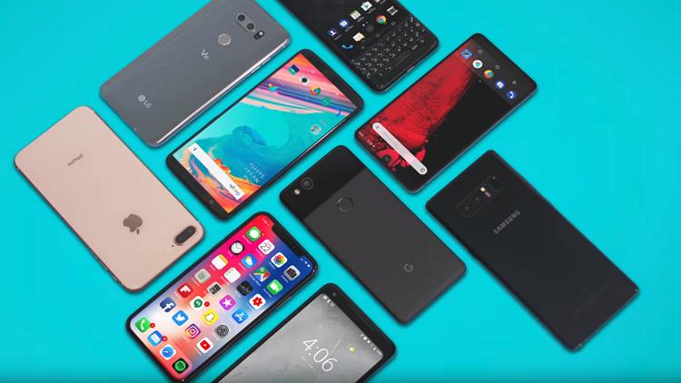 أكثر الهواتف رواجا لعام 2018