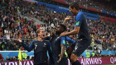 فرنسا تتغلب على بلجيكا وتبلغ نهائي المونديال