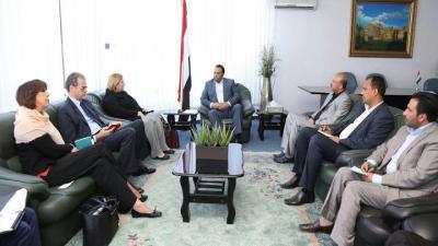 تحركات  للاتحاد الأوروبي في صنعاء تثير حفيظة الحكومة الشرعية