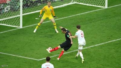 كرواتيا تقصي إنجلترا وتبلغ نهائي المونديال