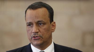 ولد الشيخ يظهر مجدداً ويدلي بتصريح حول الأزمة اليمنية