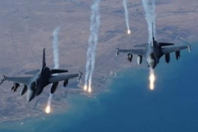 طيران التحالف يدمر تعزيزات وأسلحة ثقيلة للحوثيين في الحديدة