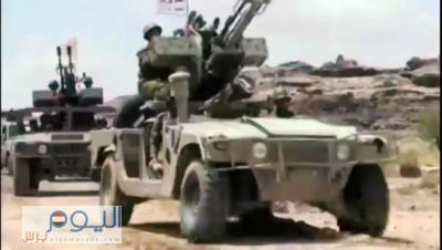 """الحوثيون يحشدون  الأطقم والعربات المدرعة باتجاه منطقة """" الحشاش """" باتجاه جبل الجنات  بعمران - والجيش يستعد للمواجهات  (تفاصيل)"""