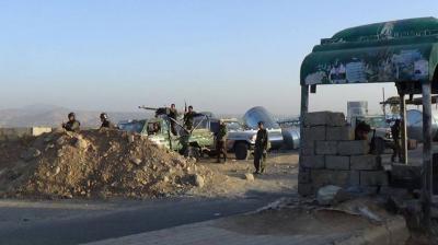 """إشتباكات عنيفة في مناطق الضبر والحجز وذيفان بين الحوثيين  وقوات الجيش بعد هجوم الحوثيين على نقطة """" الضبر """" بعمران ( تفاصيل)"""