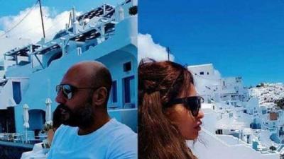 انفصال فنانة أردنية وممثل مصري بعد زواجهما بشهر