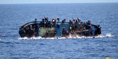 انقلاب قارب يحمل 160 مهاجرا أفريقيا في سواحل شبوة