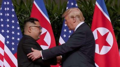 واشنطن متمسكة بإبقاء بيونغ يانغ تحت العقوبات حتى تنزع النووي