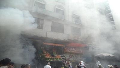 مدير شرطة تعز يكشف عن سبب تأخر إخماد حريق المركز التجاري