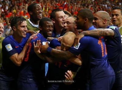 ( شاهد بالفيديو) خماسية المنتخب الهولندي في مرمى منتخب إسبانيا