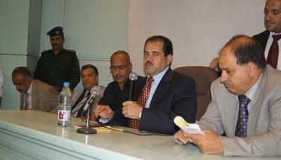 ما ذا قال نائب رئيس الوزراء وزير الكهرباء - المهندس عبدالله الأكوع في أول إجتماعاً له مع قيادة وموظفي الوزارة