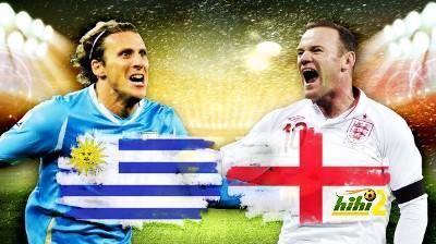 (شاهد مباشر )في هذه اللحظات يلتقي المنتخبان الإنجليزي والأوروجواي في مباراة مصيرية