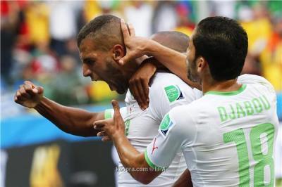 (شاهد - بالفيديو) الجزائر تسحق كوريا بأربعة أهداف لهدفين وتقترب من التأهل للدور الثاني