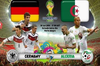"""لماذا أُطلق على مباريات الليلة بلقاء """" الثأر"""" بين كلاً من الجزائر - المانيا و فرنسا - نيجيريا"""