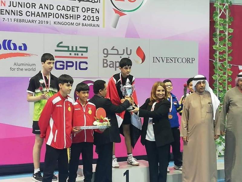 8c1a76180d42a اليمن يتوج ببطولة البحرين الدولية لكرة الطاولة تحت سن    عاما